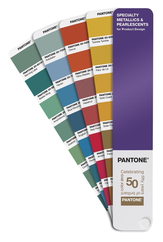 Pantone SPECIALTY METALLICS & PEARLESCENT