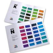 HKS K+N - mapy základních barev (coated + uncoated)
